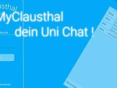 University Social Media Chat