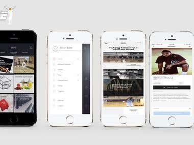 Iphone UI Prototype