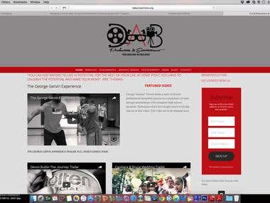 DAB Productions website
