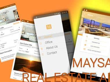 Real Estate Mobile Business App