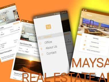 Real Estate Mobile Business App