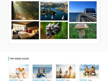Dc-Travel html responsive template