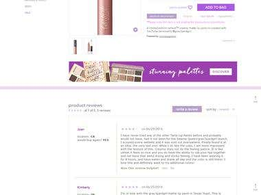 Online Cosmetics Store World Wide