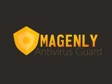 Logo Design  For MAGNALY Antivirus