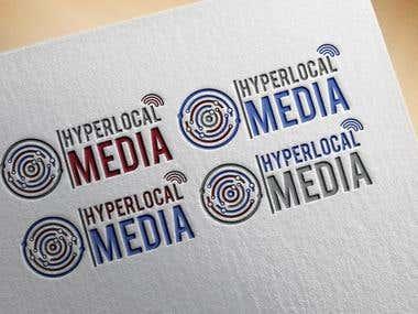 Logo Design  For HYPER LOCAL MEDIA