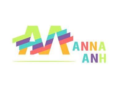 Logo Design For Manna Anh
