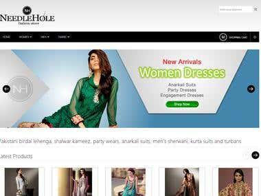 Needlehole.com online asian fashion store