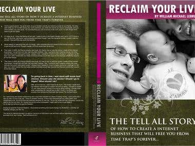Reclaim Your Live - eBook Cover Design