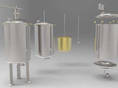 CSTR Reactor design