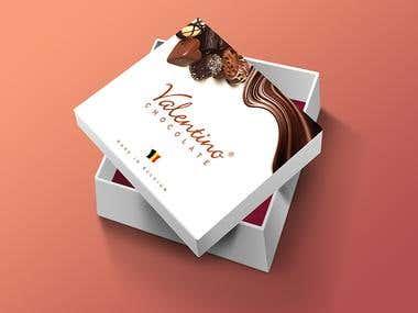 Valentino Chocolate Packaging