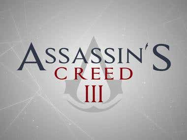 Assassins's creed 3 Title_remake