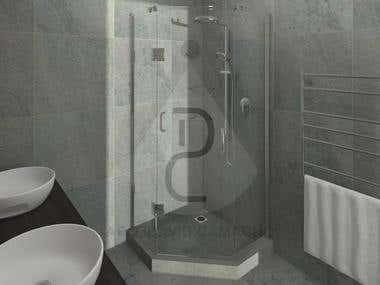BATHROOM PROJECTS - 3D Modeling & CAD