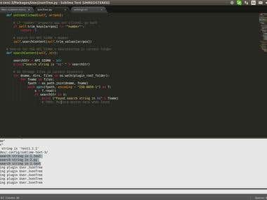 CREATED A REST API ENABLED SUBLIME TEXT PLUGIN