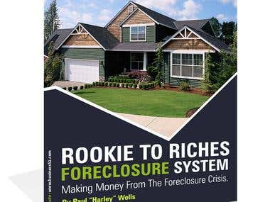 Rookie to Riches Foreclosure System - eBook Design