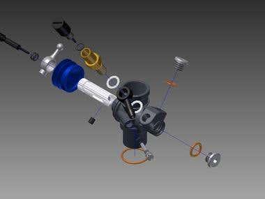 RC Car Caburetor