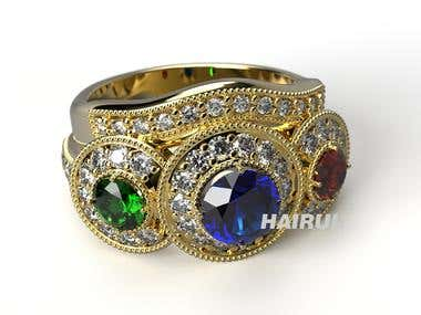 Ring design (jewelry)
