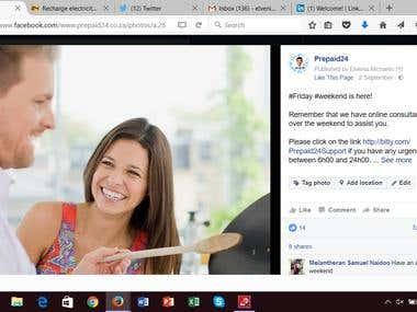 Elvenia - Social media portfolio