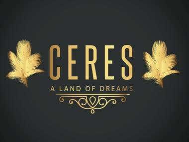 Comic Book Logo for Ceres