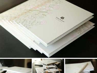 Design Wedding Album Cover & Pages