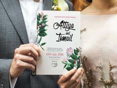 Design Wedding Invitation