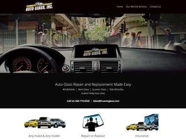 Auto glass Services Website