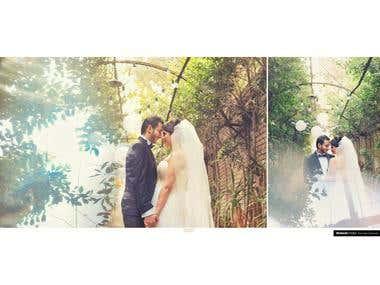 Edit wedding photos
