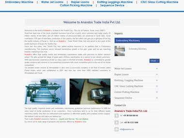 Anandos - CMS Website
