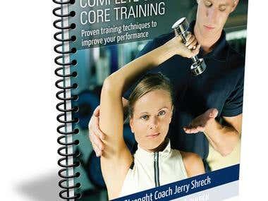 The Athlete's eBook Cover Design