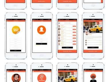 Texina Taxi App