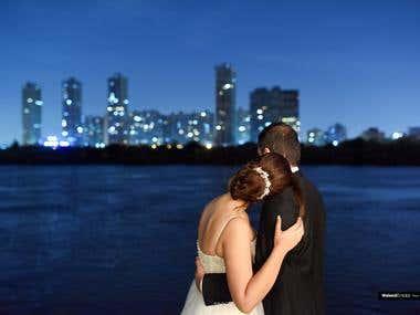 Edit Wedding photos ( VSCO style )