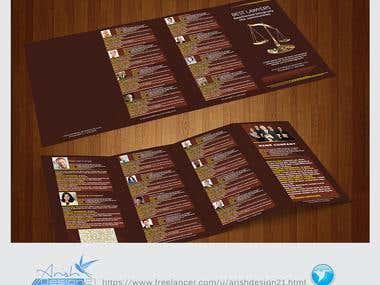 Brochures &  Corporate Folder
