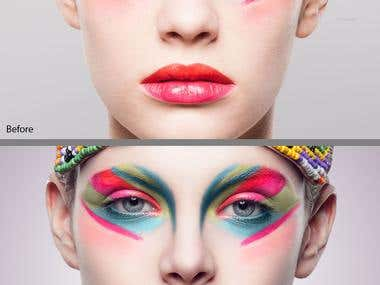 Make up retouch