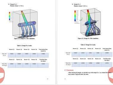 Honda cbr engine intake FlowSimulation Study