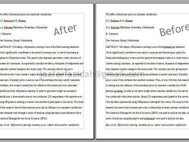 CopyEditing Technical Research Paper