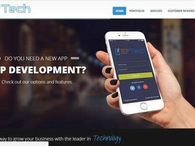 Website Development For KpTech