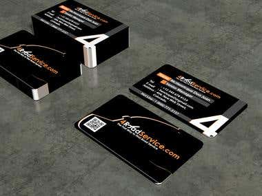 Business Card For 4RoadServices