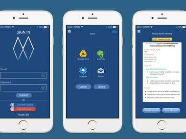 Minutes Maker App