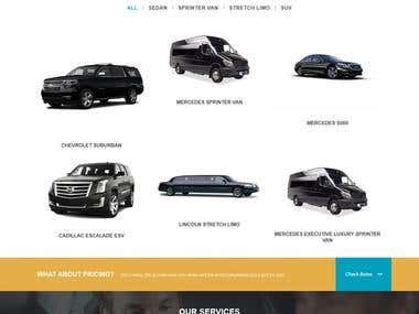 Limousine Services Website