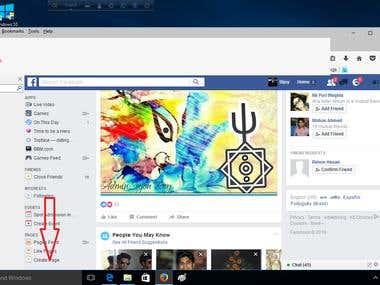 facebook fan page create. SEO
