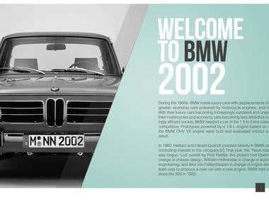 BMW 2002 presentation