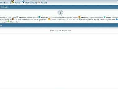 Serbian CMS - Content Management System