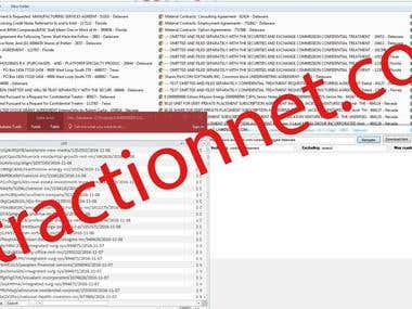Lawinsider.com - Web Scraping