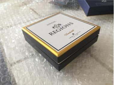 Regions Cigarettes Box design ( a real printed sample)