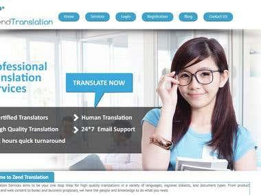 Translation Website