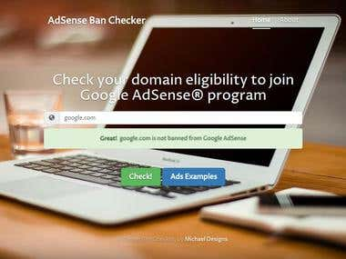 Google AdSense Ban Checker app