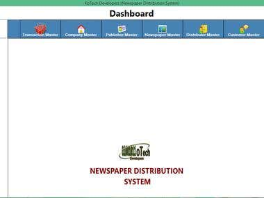 Newspaper Distribution System