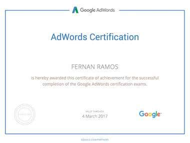 Certified Adwords Professional 2016