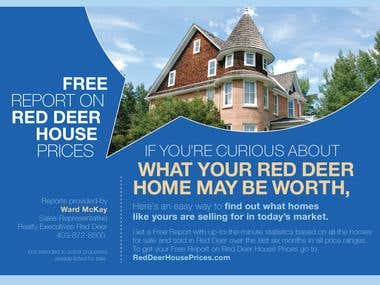 Red Deer House - Flyer