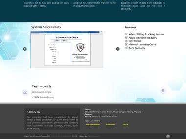 N Strike Tech homepage