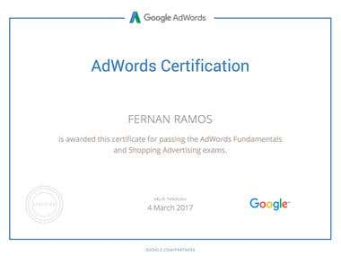 Google Shopping Certified 2016